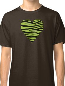 0009 Android Green Tiger Classic T-Shirt