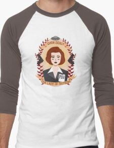 Dana Scully Men's Baseball ¾ T-Shirt