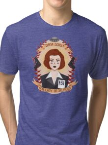 Dana Scully Tri-blend T-Shirt