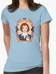 Dana Scully Womens Fitted T-Shirt