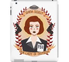 Dana Scully iPad Case/Skin