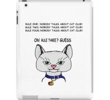 Cat Club ! iPad Case/Skin