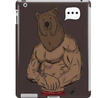 Bear Mode iPad Case/Skin