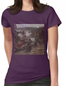Vasily Surikov - Yermak s Conquest of Siberia  Womens Fitted T-Shirt