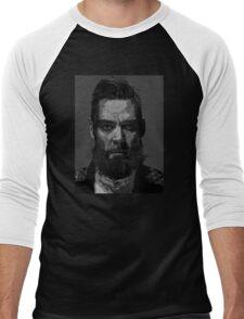 Quinn from Badlands Men's Baseball ¾ T-Shirt