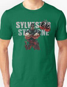 Sylvester Stallone as Rambo (Cartoon) T-Shirt