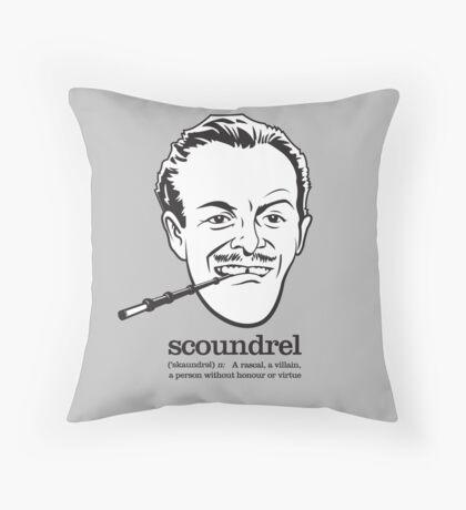 Scoundrel Throw Pillow