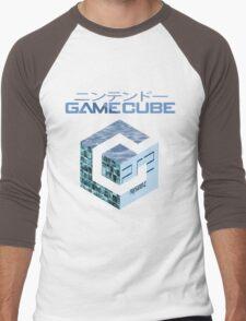 Vaporwave Gamecube Men's Baseball ¾ T-Shirt
