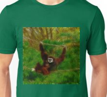 Gibbon In The Jungle Unisex T-Shirt