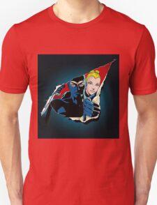 Diabolik and Eva Kant in the cut Unisex T-Shirt