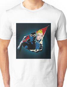 Diabolik and Eva Kant in the cut T-Shirt
