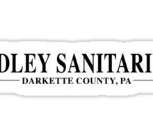 Radley Sanitarium Sticker