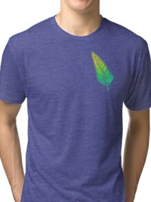 Ombre Flow! (Green) Tri-blend T-Shirt