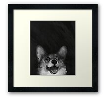 Sausage Fox Framed Print