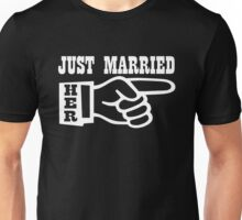 Just Married Her Unisex T-Shirt
