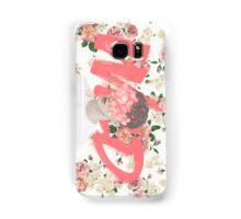 WILD Floral Pink Cover Samsung Galaxy Case/Skin