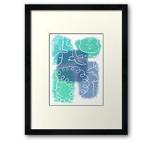 the ugly beauty of everyday life Framed Print