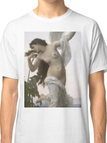 William Bouguereau  - L Aurore Dawn 1881 Classic T-Shirt