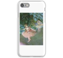 Edgar Degas, Dancer on Stage, c.  pastel on paper iPhone Case/Skin