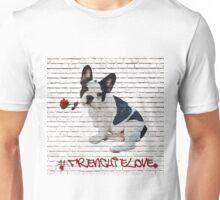 French bulldog 'Frenchie' Unisex T-Shirt