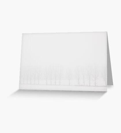 falling in white Greeting Card