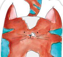 Hi, it's me ! Kat - Cat - Kitten - Illustratie - Illustration Sticker