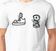 Skaters trainers Unisex T-Shirt