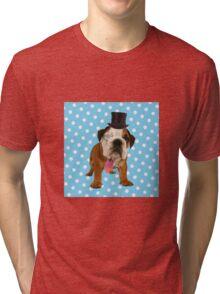 British Bulldog Tri-blend T-Shirt