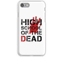 High School of the Dead iPhone Case/Skin
