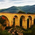 Gata de Gorgos bridge by Ralph Goldsmith