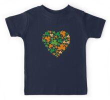 Lucky Heart Clovers #04 Kids Tee