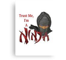 I Am A Ninja Metal Print