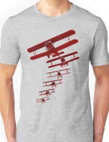 Retro Biplane Graphic Unisex T-Shirt