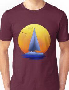 Catamaran Sailboat Unisex T-Shirt