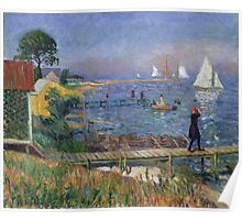William Glackens - Bathers at Bellport 1912 Poster