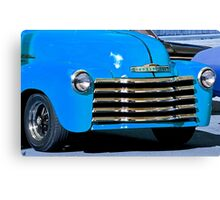 Restored Chevrolet at Antique Road Show Canvas Print
