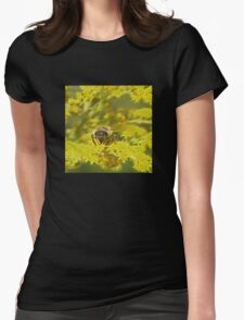 Little bee Womens Fitted T-Shirt