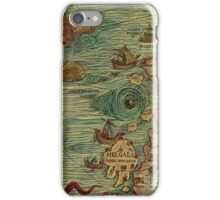 Historic Map iPhone Case/Skin