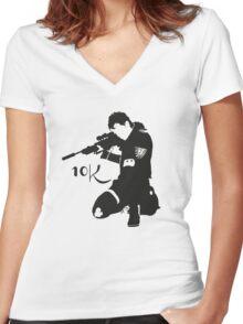 Z nation - 10K  Women's Fitted V-Neck T-Shirt