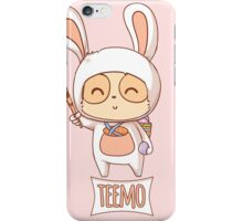 Cottontail Teemo  iPhone Case/Skin