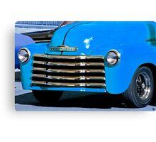 Classic Vintage Chevrolet at Antique Car Show Canvas Print