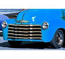 Classic Vintage Chevrolet at Antique Car Show Photographic Print