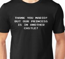 Thank you Mario! game quote Unisex T-Shirt