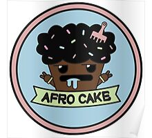 Afro cake Poster