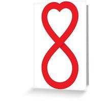 Infinite Love Greeting Card