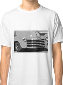 Black and White Print Restored Vintage Automobile Classic T-Shirt