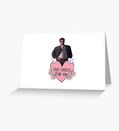 Sassy Mulder Greeting Card