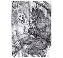 Werewolf courtship Poster