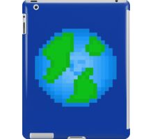 pixel earth iPad Case/Skin