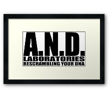 AND Laboratories Framed Print